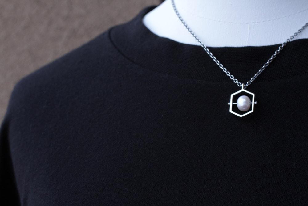 イシトメ-真珠-トルソー衣装2